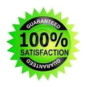 Satisfaction guaranty